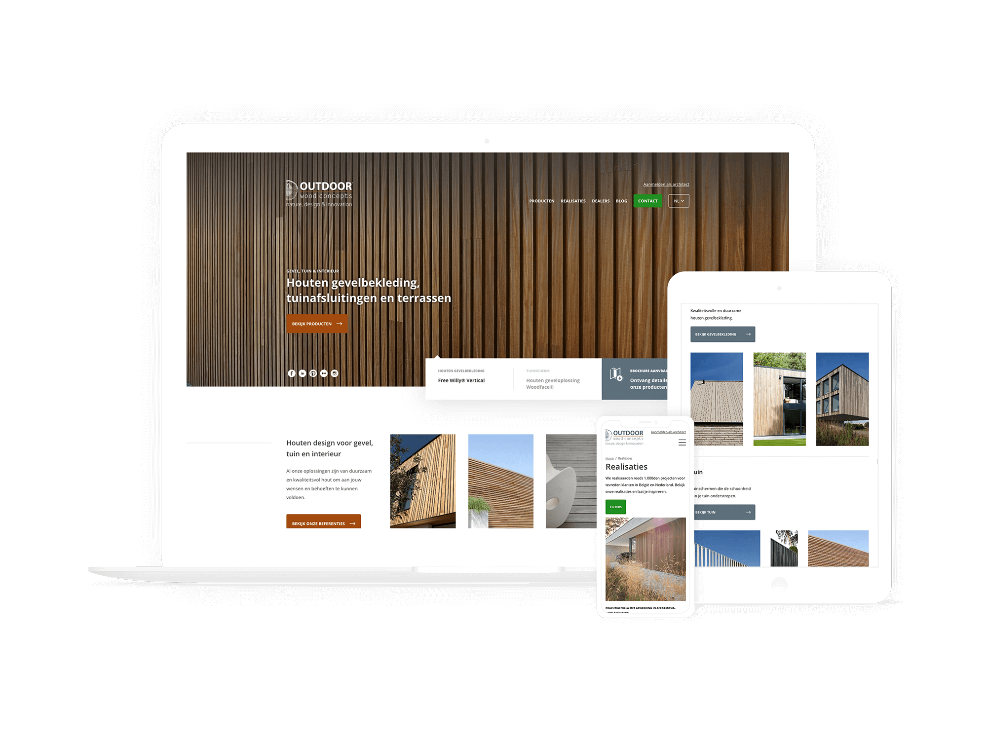 Outdoor Wood Concepts - UXMen Case