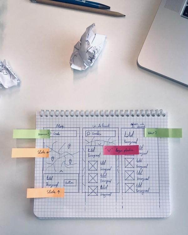 Het verschil tussen wireframes en prototypes